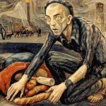 """Autoritratto di David Olère intitolato """"Il cibo dei morti per i vivi"""""""