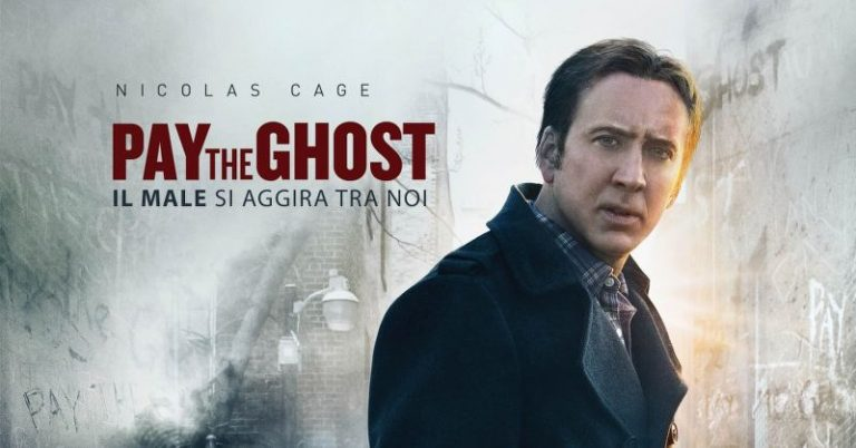 Pay the ghost, film horror di Halloween con Nicolas Cage