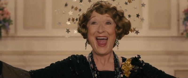 Meryl Streep nei panni di Florence Foster Jenkins