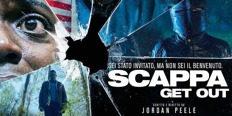 """La locandina del film """"Scappa - get out"""""""